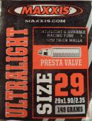 Duše MAXXIS Ultralight 29erx1.90-2.35 (50/60-622) FV/40mm