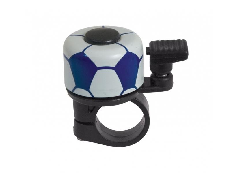 Zvonek fotbal, modrý