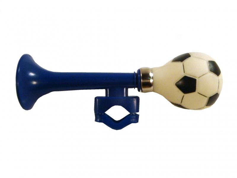 Houkačka úzká fotbal, modrá